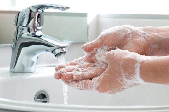 Mantenha sempre as mãos limpas