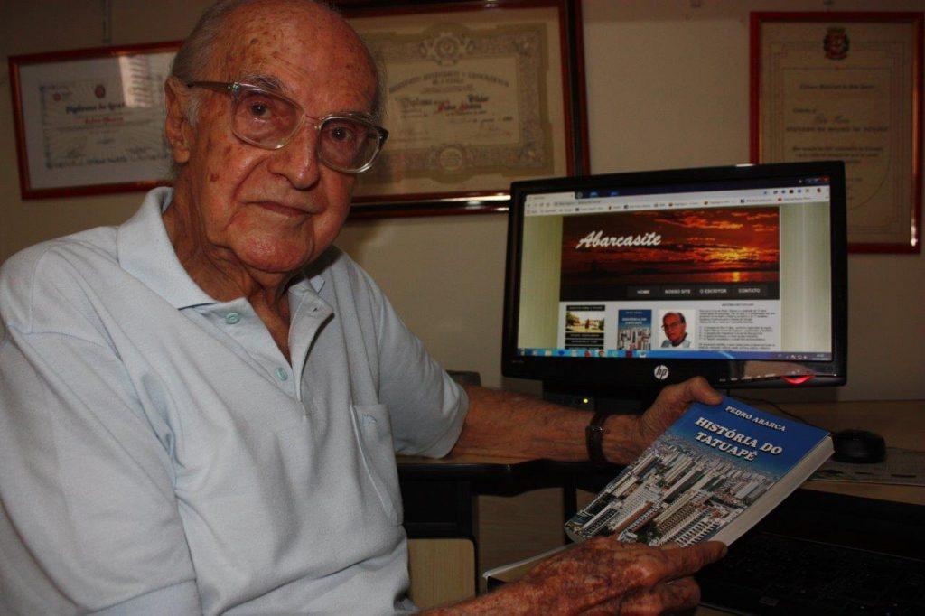 Pedro Abarca, autor do livro História do Tatuapé