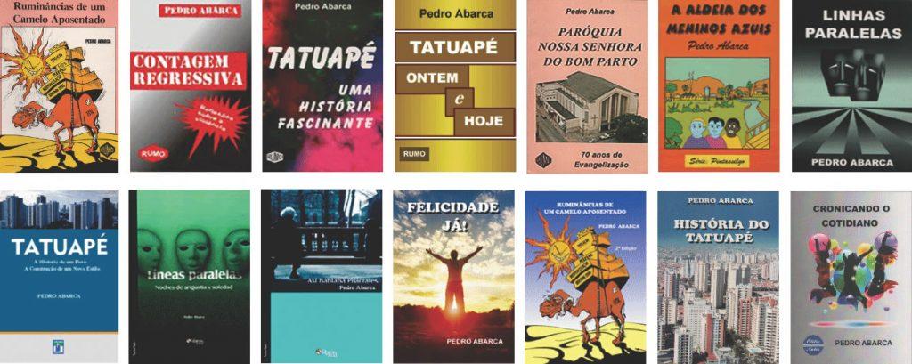 Livros publicados por Pedro Abarca
